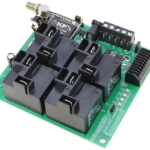 Key Fob Relay Controller with 4-Channel High-Power Relays