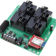 Bluetooth Relay Controller with 4-Channel High-Power Relays