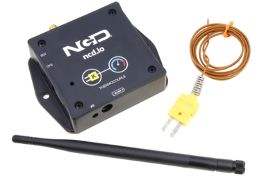 Xbee Long Range Wireless Thermocouple from ncd.io