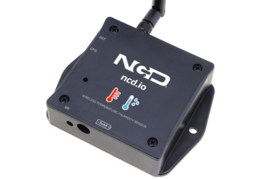 Long Range Wireless Temperature and Humidity Sensor from ncd.io