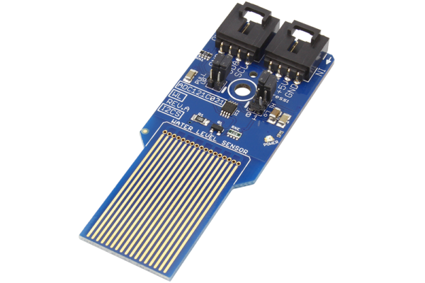 ADC121C021 Water Level Sensor with Analog Input and I2C Interface