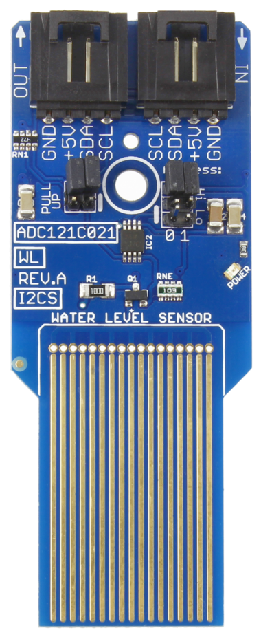 Water Level Sensor with Analog Input and I2C Interface