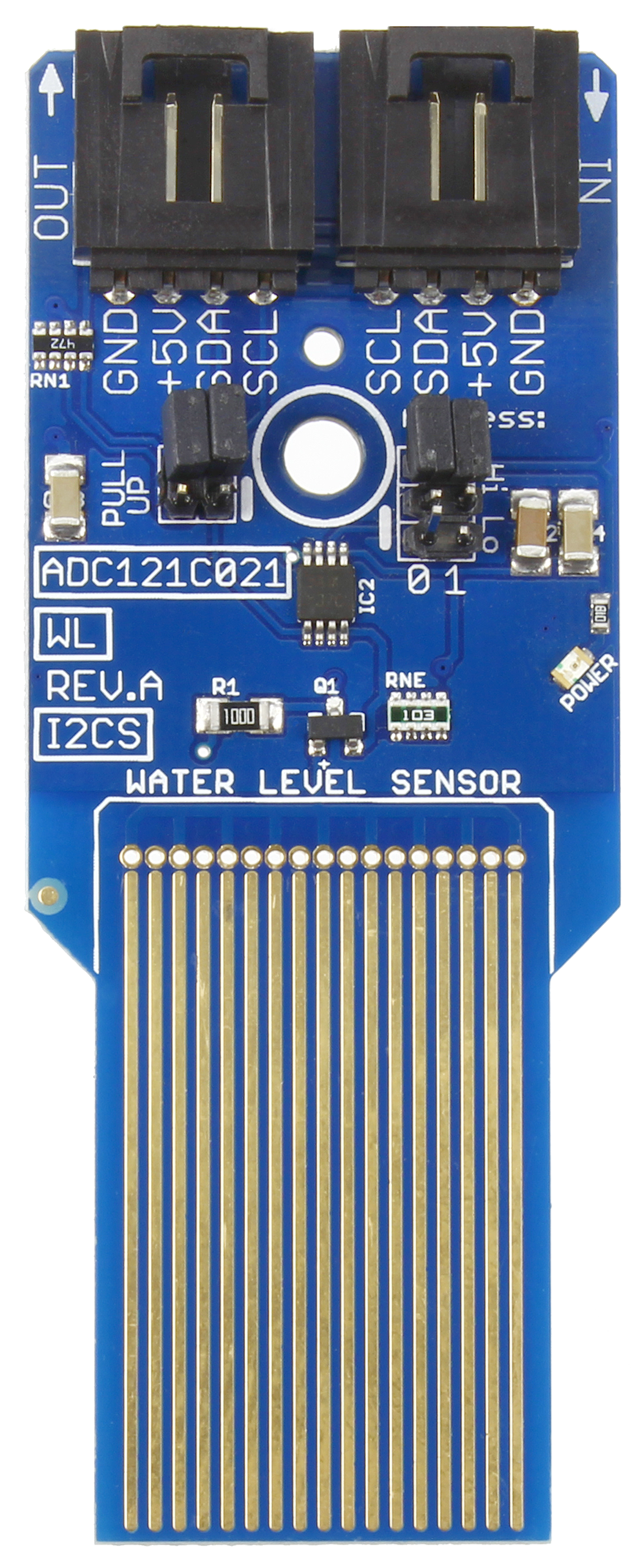 Water Level Sensor with Analog to Digital Converter ADC121C021 -  store ncd io
