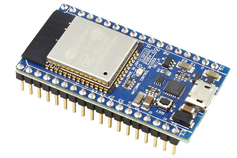 ESP32 IoT WiFi BLE Module with Integrated USB