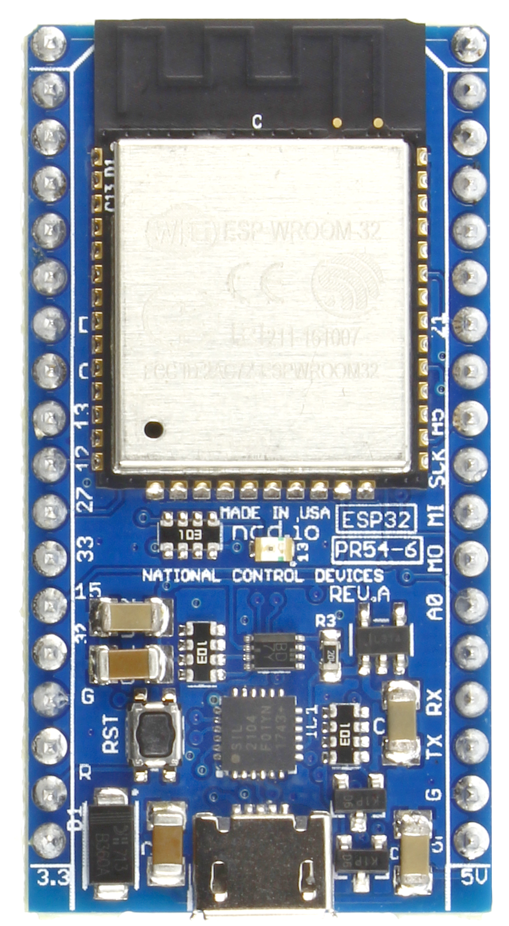 ESP32 IoT WiFi BLE Module with Integrated USB - store ncd io