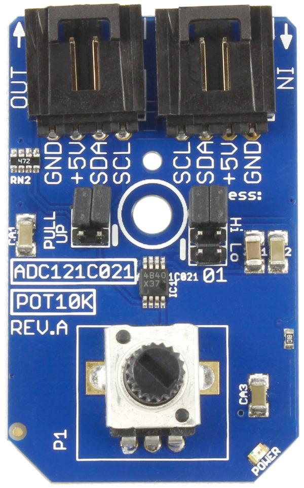 I2C Potentiometer Input