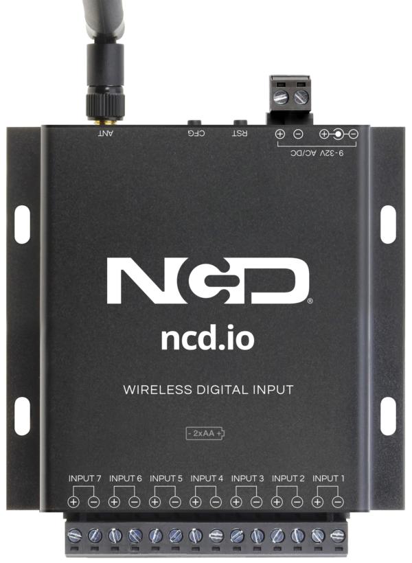 long range iot wireless digital input board