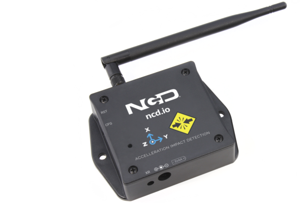Wireless Acceleration and Impact Detection Sensor