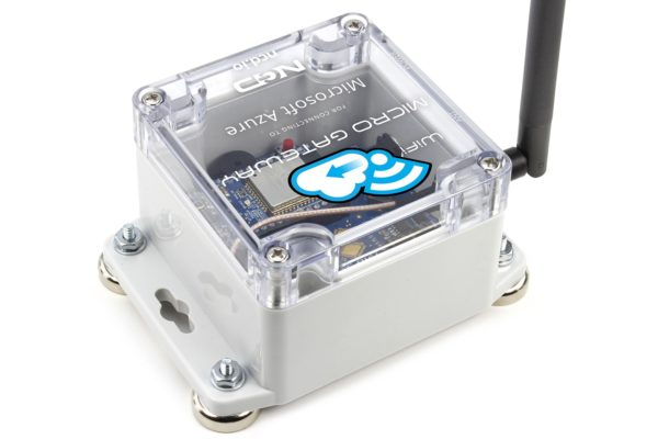 Azure Gateway Connect Wireless Sensors to Microsoft Azure IoT using the Micro Gateway - for Long Range Wireless Sensors - NCD WiFi Micro Gateway for Connection to Microsoft Azure