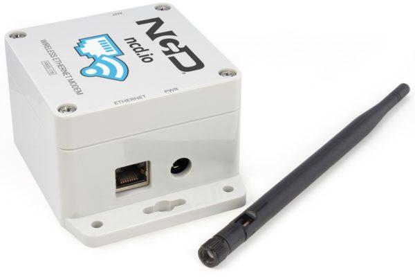 Receive Long Range Sensor Data over Ethernet from NCD Long Range Wireless IoT Sensors