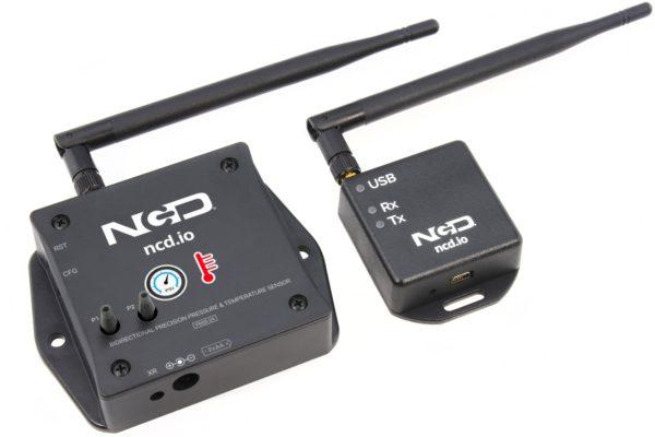 Wireless Precision Pressure Sensor for Connection to Azure IoT Amazon AWS IoT Losant