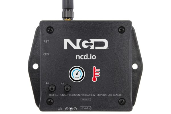 Long Range Wireless Precision Pressure IoT Sensor