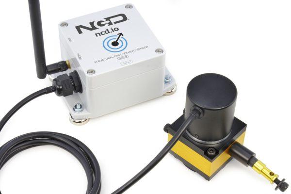 Structural Monitoring Sensor IoT Long Range Wireless