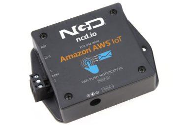 WiFi Push Notification Dry Contact Sensor for AWS