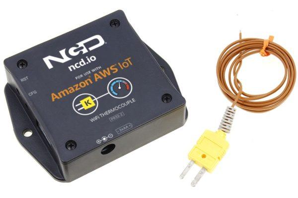 WiFi Thermocouple Temperature Sensor