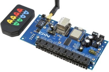 Dual Serial to 16 Port I2C Converter with KeyFob Remote Control