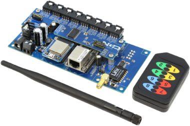 Dual Serial to 16 Port I2C Converter