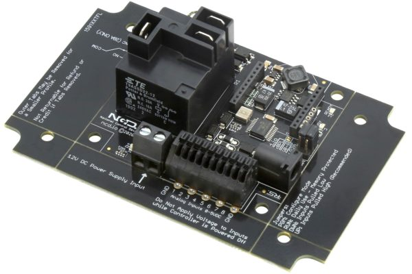 PR60-8_R1x0PL R120PL R130PL XBee® 1-Channel Relay Controller with 8-Channel ADC