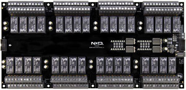 PR60-54 XR32xDPDT Relay Expansion Controller