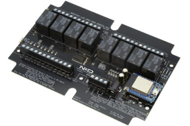 PR60-1 R8xPL R85PL R810PL WiFi Bluetooth 8-Channel Relay Controller with 8-Channel ADC