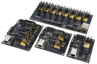 SSR Ethernet Relays with ADC Inputs