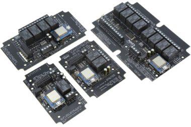 WiFi Bluetooth Wireless Relays with ADC Inputs