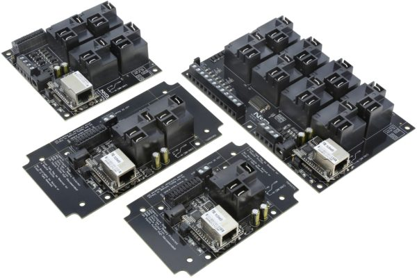 Ethernet High-Power Relays with ADC Inputs