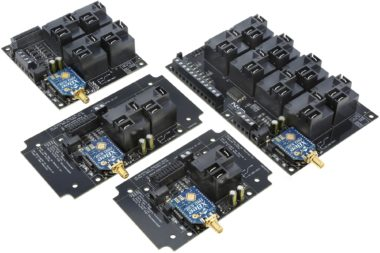 Long Range Wireless High-Power Relays with ADC Inputs