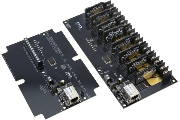 Contact Closure Transmitter Receivers 8-Channel Solid State Relays Ethernet Communications
