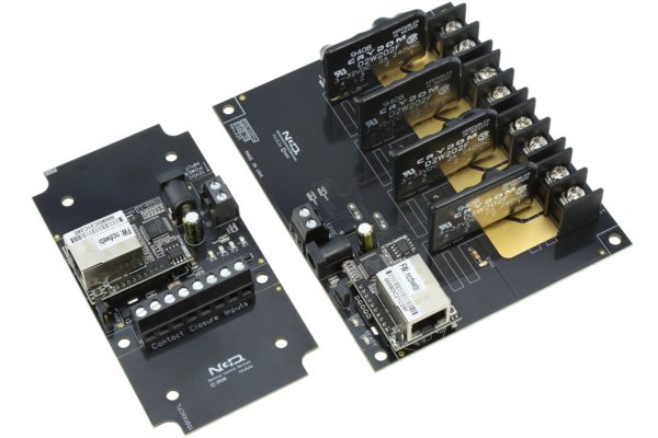 Contact Closure Transmitter Receivers 4-Channel Solid State Relays Ethernet Communications