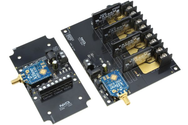 Contact Closure Transmitter Receivers 4-Channel Solid State Relays Long Range Wireless Communications