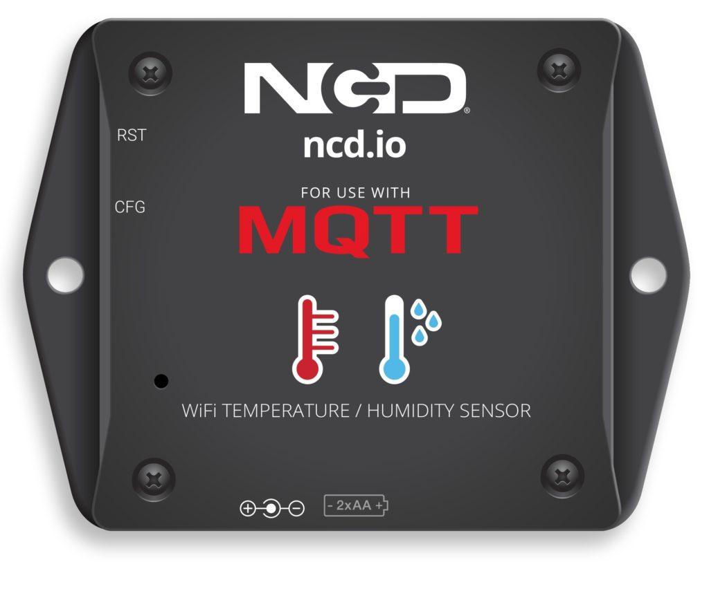 WiFi Temperature Humidity Sensor for MQTT