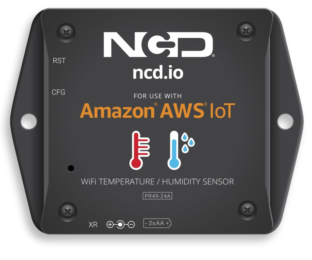 WiFi Temperature Humidity Sensor for AWS