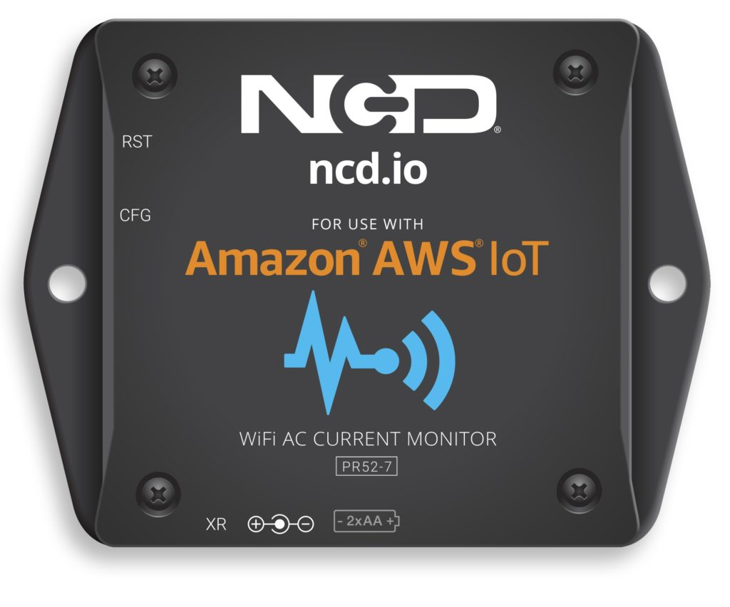 WiFi AC Current Monitor for AWS