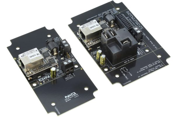 Contact Closure Transmitter Receiver over Ethernet 1-Channel High-Power Relay