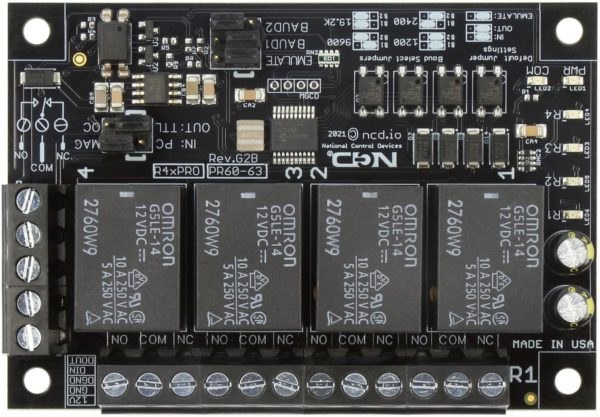 R410PRO R45PRO R4xPRO 4-Channel Relay Controller