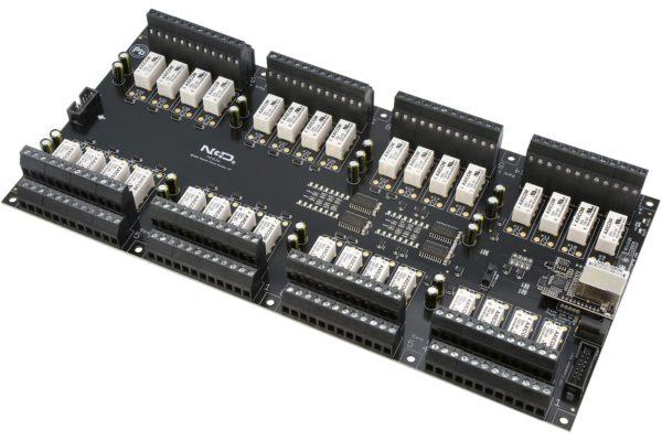 PR60-73 ZUXPSR32xDPDTPROXR Ethernet 32-Channel DPDT Relay Controller with UXP Expansion Port