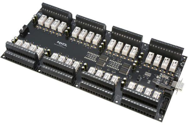 PR60-73 ZUXPSR32xDPDTPROXR RS-232 32-Channel DPDT Relay Controller with UXP Expansion Port