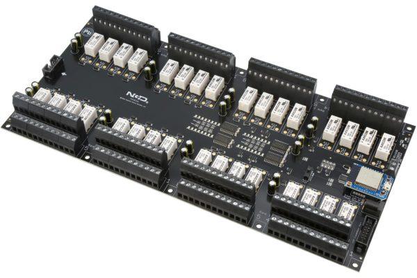 PR60-73 ZUXPSR32xDPDTPROXR USB WiFi Bluetooth 32-Channel DPDT Relay Controller with UXP Expansion Port