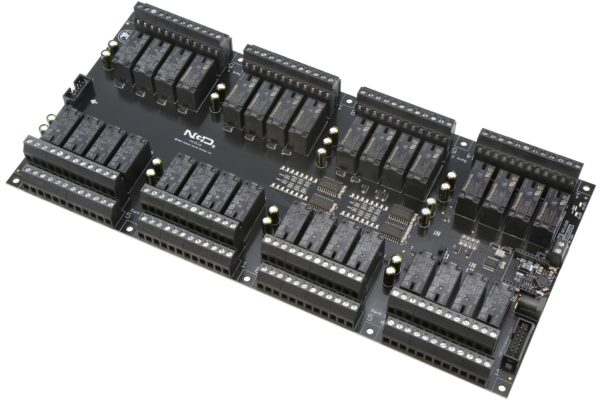 PR60-73 ZUXPSR32xDPDTPROXR 32-Channel DPDT Relay Controller with UXP Expansion Port