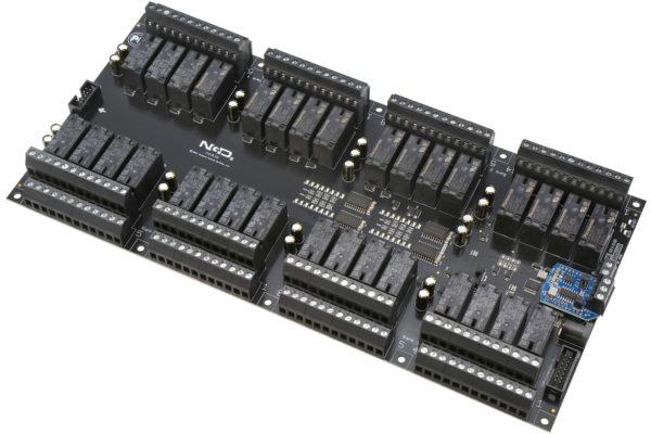 PR60-73 ZUXPSR32xDPDTPROXR RS-485 32-Channel DPDT Relay Controller with UXP Expansion Port