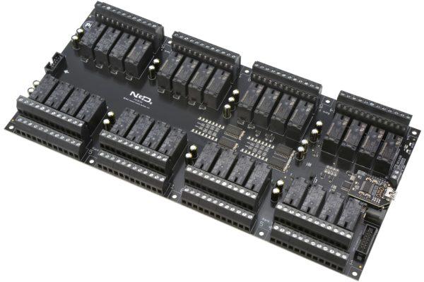 PR60-73 ZUXPSR32xDPDTPROXR USB 32-Channel DPDT Relay Controller with UXP Expansion Port