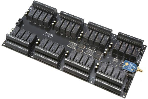 PR60-73 ZUXPSR32xDPDTPROXR Wireless 32-Channel DPDT Relay Controller with UXP Expansion Port