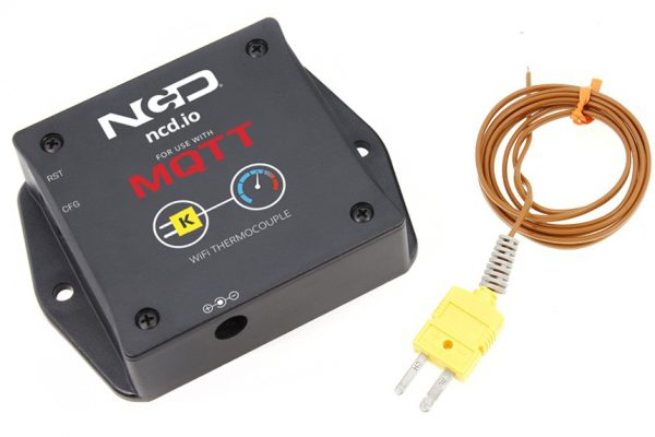 WiFi Thermocouple Temperature Sensor for MQTT