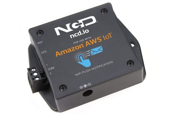 WiFi Push Notification Dry Contact Transmitter for AWS