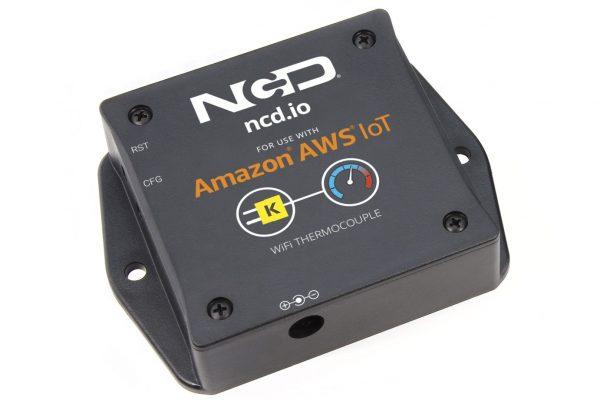 WiFi Thermocouple Temperature Sensor for AWS