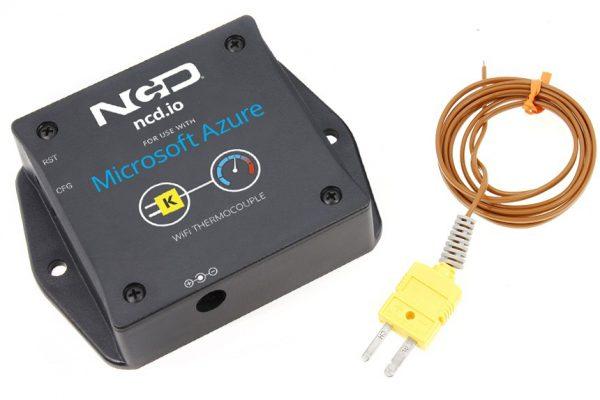 WiFi Thermocouple Temperature Sensor for Azure