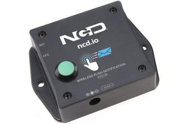 Wireless Push Notification Transmitter