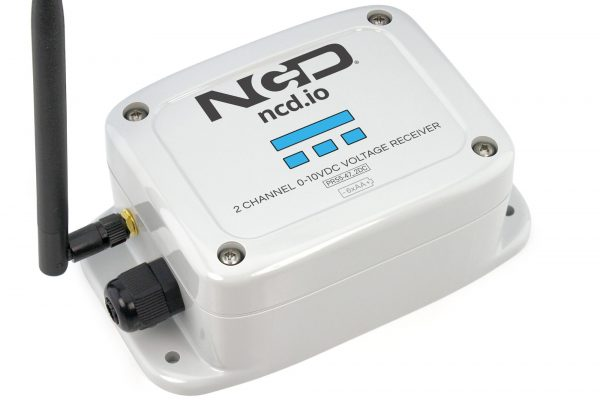 2 Channel 0-10VDC Receiver
