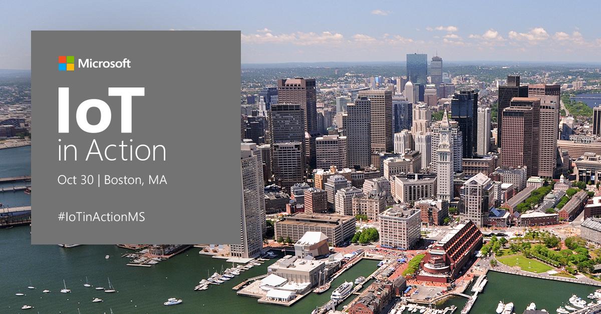 IoT in Action Boston – Microsoft + NCD = FRIDG-E